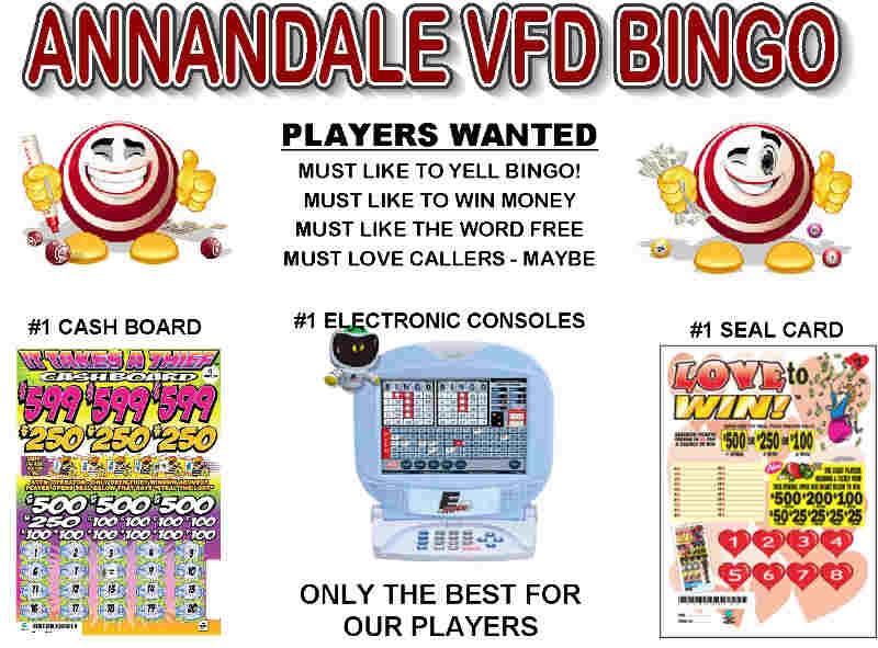 AVFD Bingo Life Flyer, Top Half Image