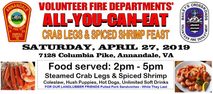 Spring 2019 Crab Feast